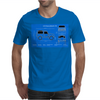 Land Rover Defender T90 technical drawing Mens T-Shirt