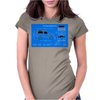 Land Rover Defender T90 technical drawing Womens Fitted T-Shirt