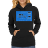Land Rover Defender T90 technical drawing Womens Hoodie