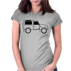 Land Rover Defender T90 Womens Fitted T-Shirt