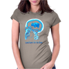 Land Rover On The Brain Womens Fitted T-Shirt