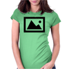Landscape Icon Womens Fitted T-Shirt
