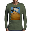LARGE HAT GIRL Mens Long Sleeve T-Shirt