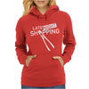 Late Night Shopping Womens Hoodie