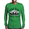 Laughing Chef Skulls: Chef Life (Baked. Fried. Sauced.) Mens Long Sleeve T-Shirt