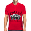 Laughing Chef Skulls: Chef Life (Baked. Fried. Sauced.) Mens Polo