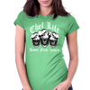 Laughing Chef Skulls: Chef Life Womens Fitted T-Shirt