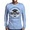 Laughing Chef Skulls: It's a Chef's World... Mens Long Sleeve T-Shirt