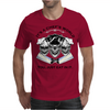 Laughing Chef Skulls: It's a Chef's World... Mens T-Shirt