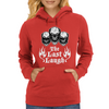 Laughing Skull Trio: The Last Laugh Womens Hoodie