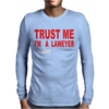 Lawyer Mens Long Sleeve T-Shirt
