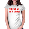 Lawyer Womens Fitted T-Shirt