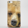 Lazy Grizzly Bear Painted Picture Phone Case