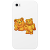 Lazzy Teddy bear Mama N Cub Phone Case