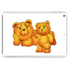 Lazzy Teddy bear Mama N Cub Tablet (horizontal)