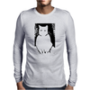 Le Cat Mens Long Sleeve T-Shirt