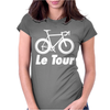 Le Tour Bike Silhouette 2015 De France NEW Womens Fitted T-Shirt