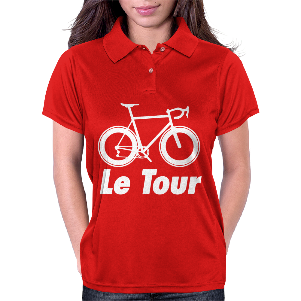 Le Tour Bike Silhouette 2015 De France NEW Womens Polo