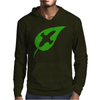 Leaf on the Wind Mens Hoodie