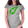 Leaf on the Wind Womens Fitted T-Shirt
