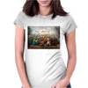 League of Legends poster horizontal Womens Fitted T-Shirt