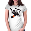 Lean bottle Womens Fitted T-Shirt