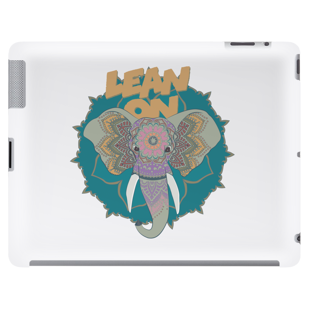 Lean on Tablet (horizontal)