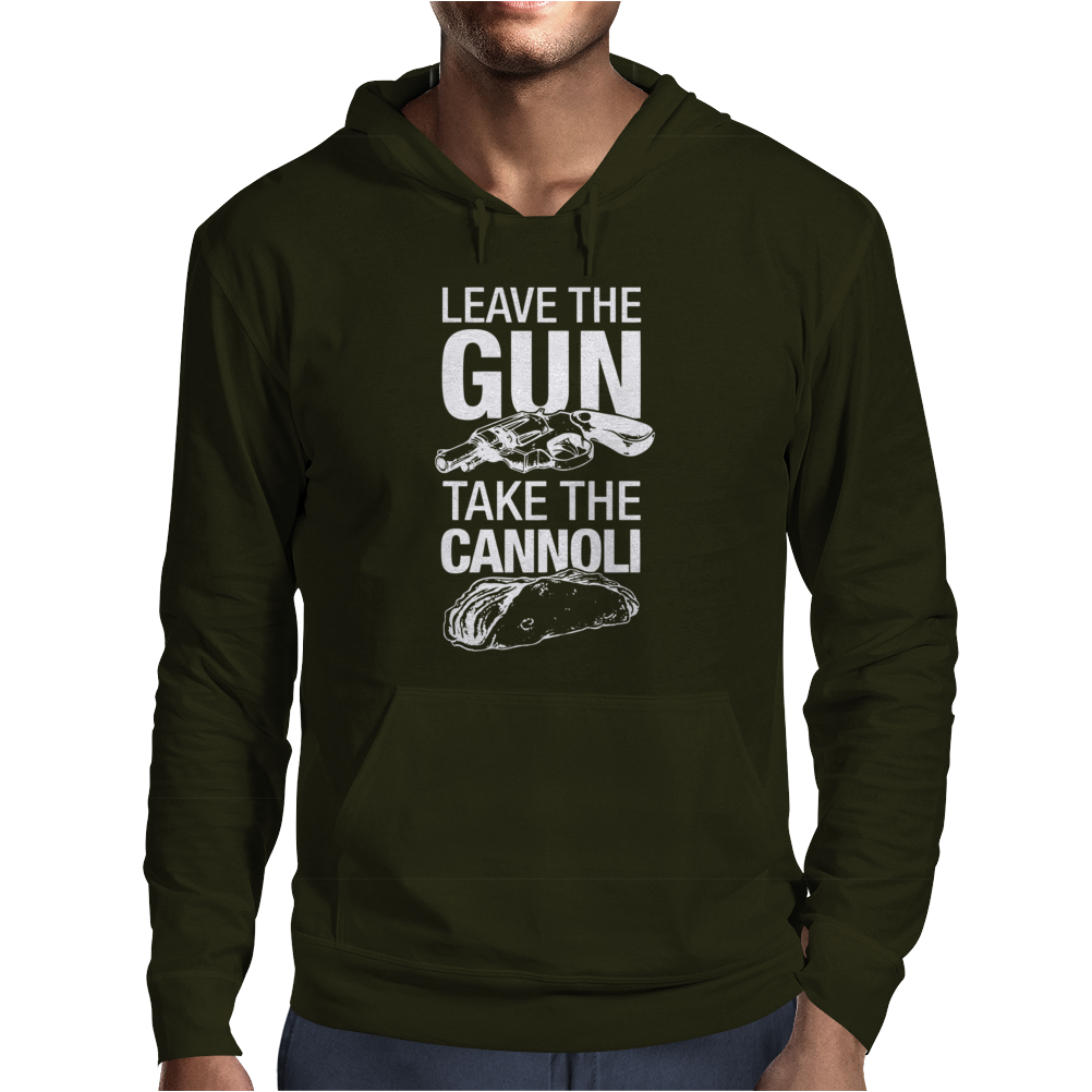 Leave The Gun Take The Cannoli Mens Hoodie