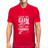 Leave The Gun Take The Cannoli Mens Polo