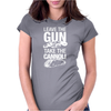 Leave The Gun Take The Cannoli Womens Fitted T-Shirt