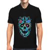 """Lee Skulla"" by EBC. Modern, blue skull,designer, brand, apparel, skull image, skull designs Mens Polo"