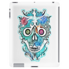 """Lee Skulla"" by EBC. Modern, blue skull,designer, brand, apparel, skull image, skull designs Tablet (vertical)"