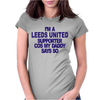 Leeds United Supporter Womens Fitted T-Shirt