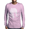 Left Side Elephant Mens Long Sleeve T-Shirt