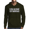 LEGALISE GAY MARRIAGE Mens Hoodie