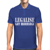 LEGALISE GAY MARRIAGE Mens Polo