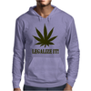 Legalize It Mens Hoodie