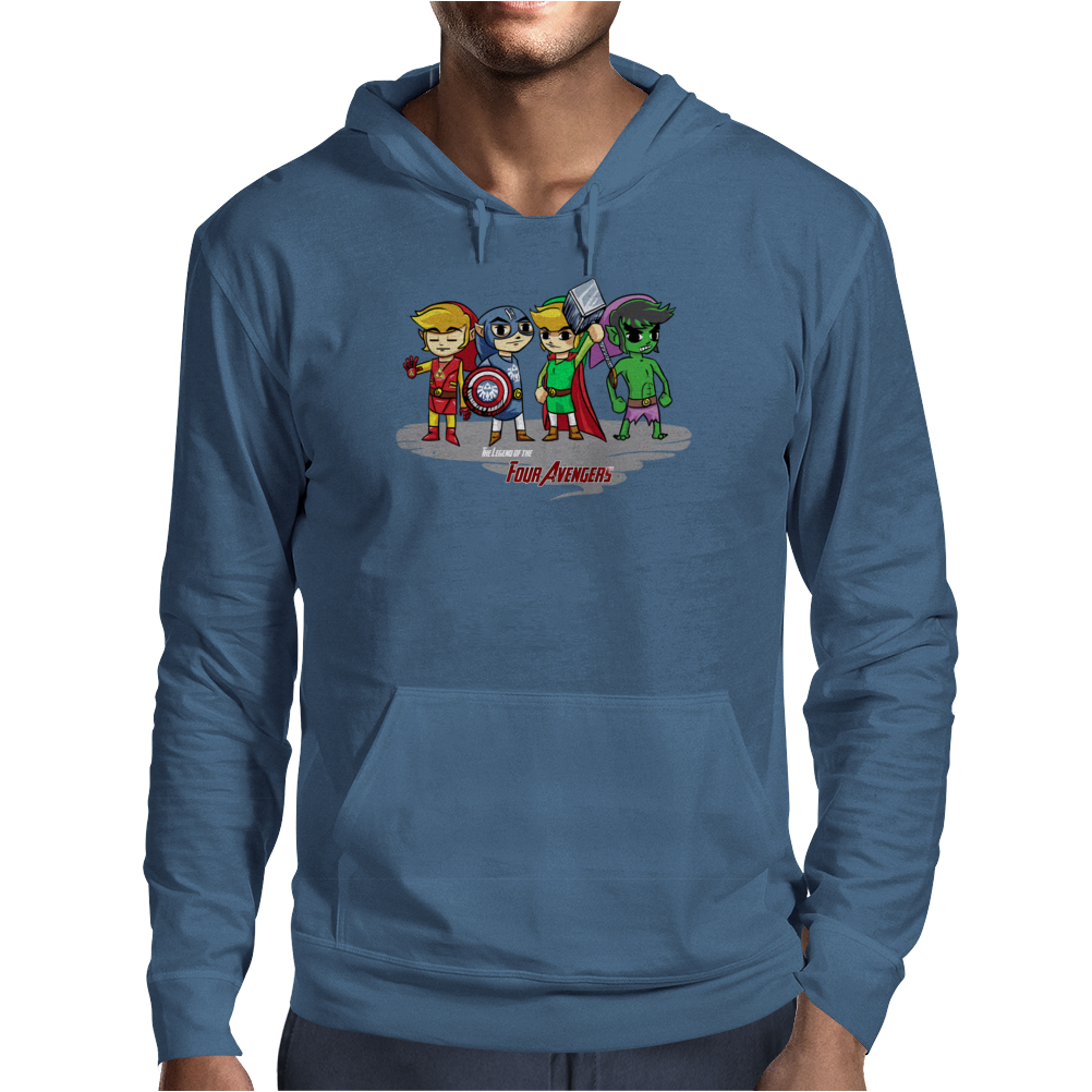 Legend of the Four Avengers Mens Hoodie