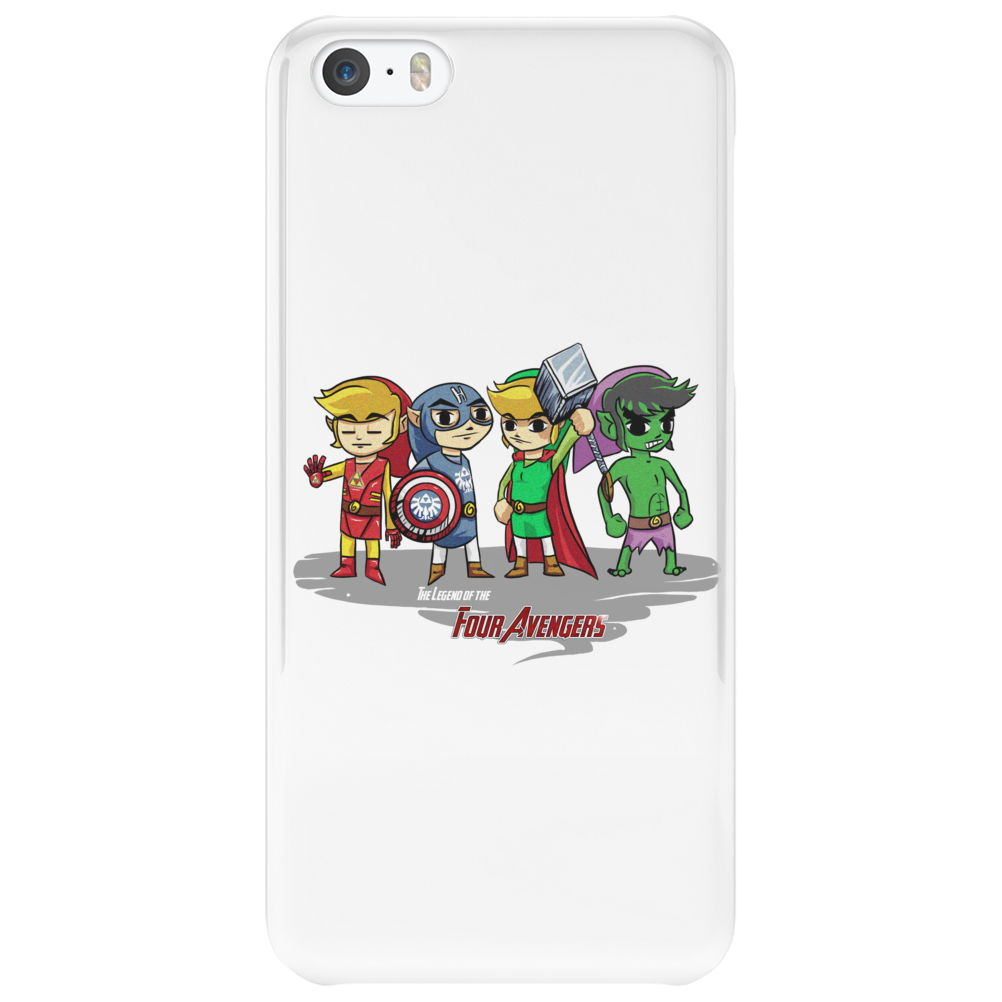 Legend of the Four Avengers Phone Case