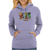 Legend of the Four Avengers Womens Hoodie