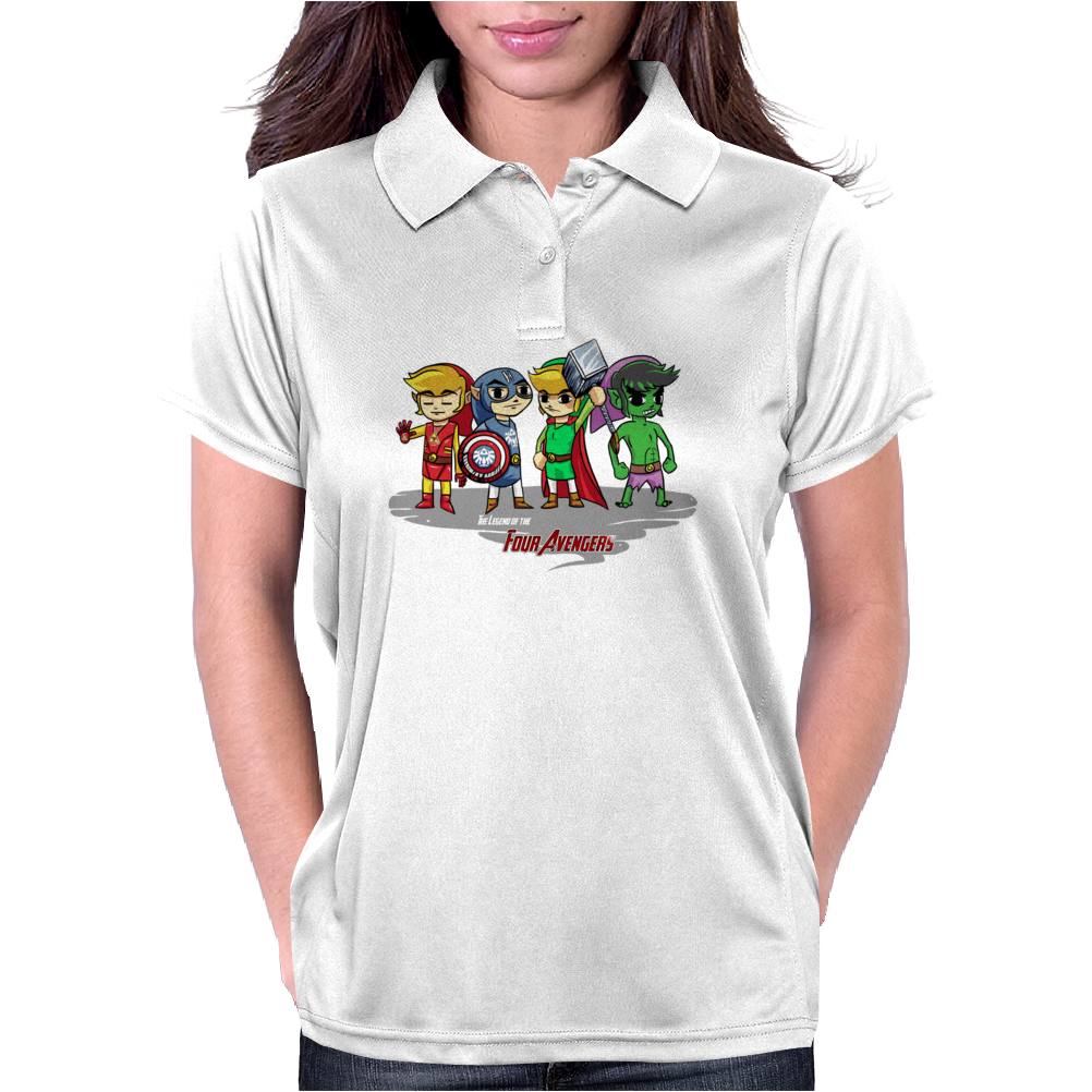Legend of the Four Avengers Womens Polo