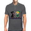 Legend of Zelda Link vs Dark Link Star Wars Parody Mens Polo