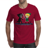 Legend of Zelda Link vs Dark Link Star Wars Parody Mens T-Shirt