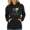 Legend of Zelda Link vs Dark Link Star Wars Parody Womens Hoodie