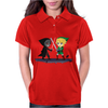 Legend of Zelda Link vs Dark Link Star Wars Parody Womens Polo