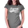 LEGEND SINCE 1977, FUNNY Womens Fitted T-Shirt