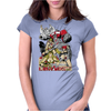 LEGENDS OF THE 80´S Womens Fitted T-Shirt
