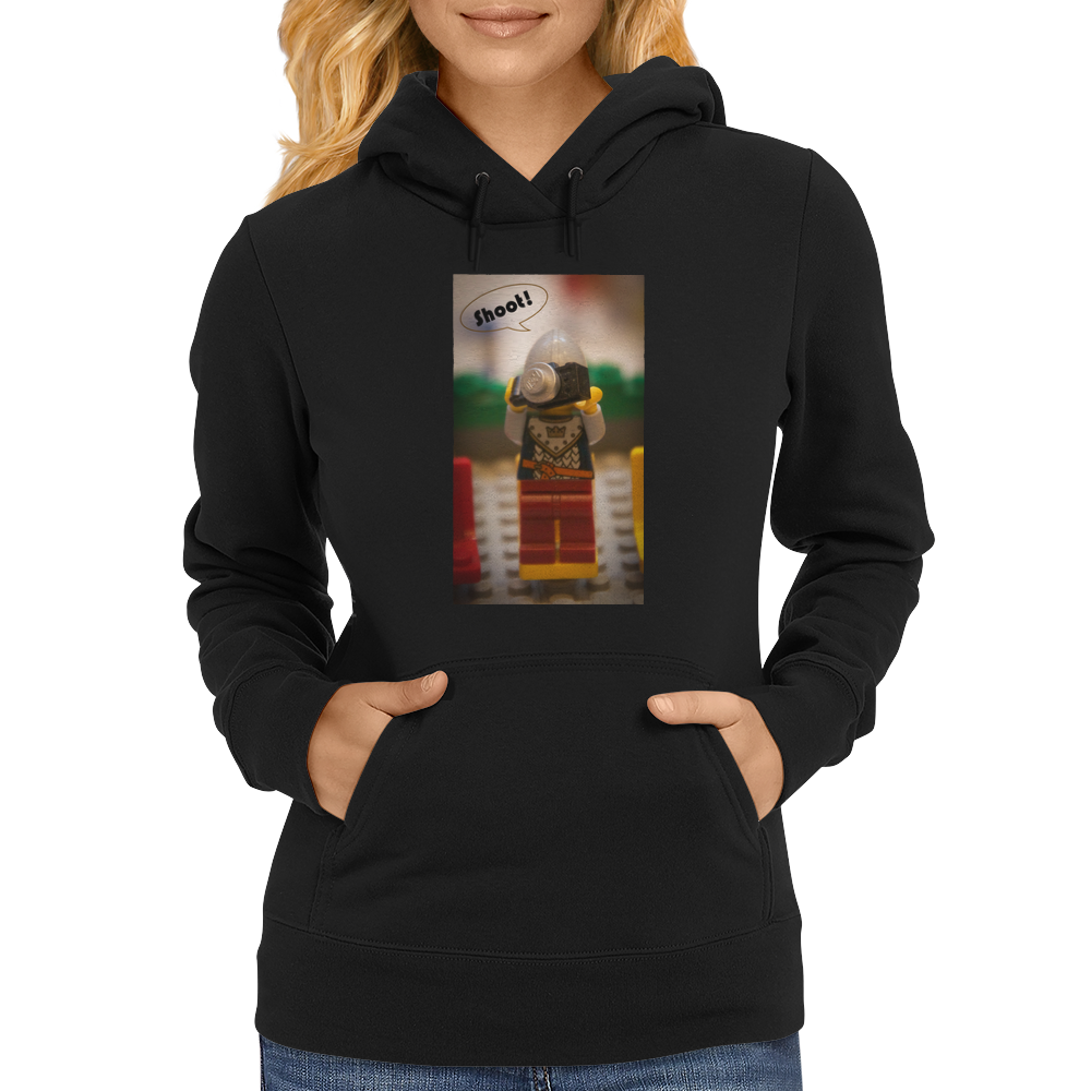 Lego - Camera soldier, Shoot! Womens Hoodie