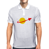 Lego Classic Space Logo Big Bang Theory Mens Polo