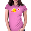 Lego Classic Space Logo Big Bang Theory Womens Fitted T-Shirt